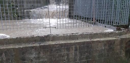 """Campasso: straripa di nuovo il rio, Lucia (Pd) e Passeri (Leu): """"Soli senza supporto"""" (VIDEO)"""