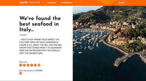 Santa Margherita Ligure: al via la campagna internazionale di promozione della città, inserita sul portale di EasyJet