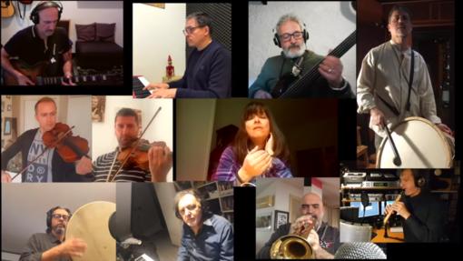 """Pivio e Aldo De Scalzi live da casa insieme ad altri 11 musicisti nella """"Corona Session"""" (VIDEO)"""
