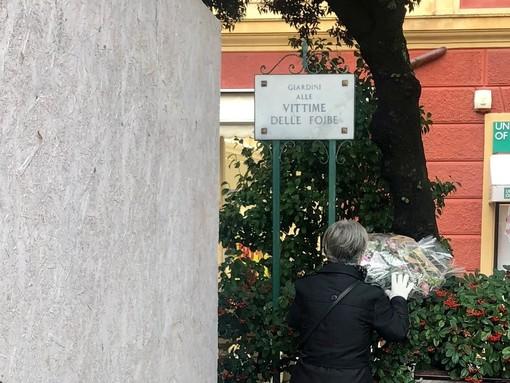 Il Giorno del Ricordo: commemorazione della tragedia a Santa Margherita Ligure negli omonimi giardini (FOTO)