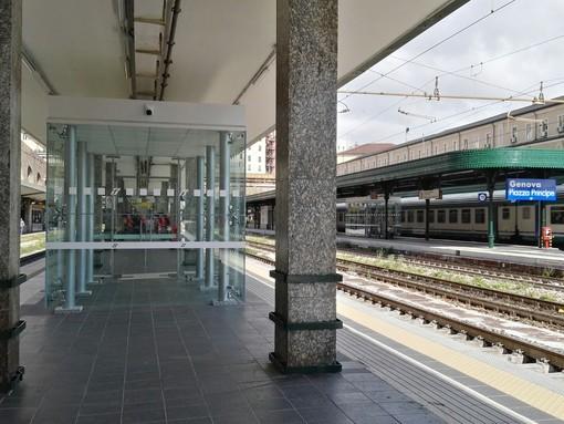 Ritardi medi di 45 minuti a Principe: guasti e lavori sulle ferrovie liguri