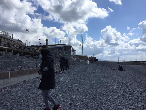 Un accesso per disabili alla spiaggia di San Giuliano