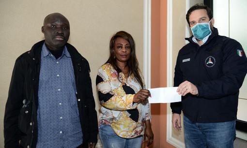 Coronavirus: la comunità senegalese di Genova dona mille euro alla Protezione civile locale