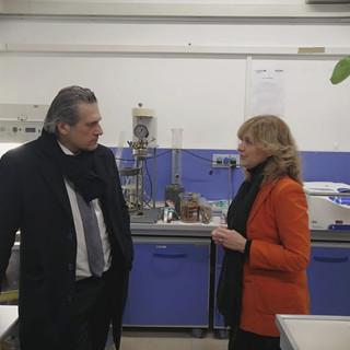 L'Università di Genova ospita l'assessore Stefano Mai nei suoi laboratori [FOTO]
