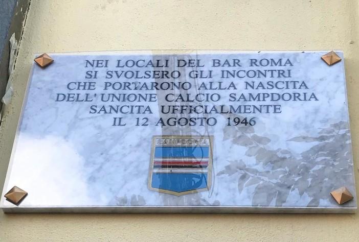La Sampdoria compie 75 anni, il 12 agosto piazza Vittorio Veneto diventa la Sud