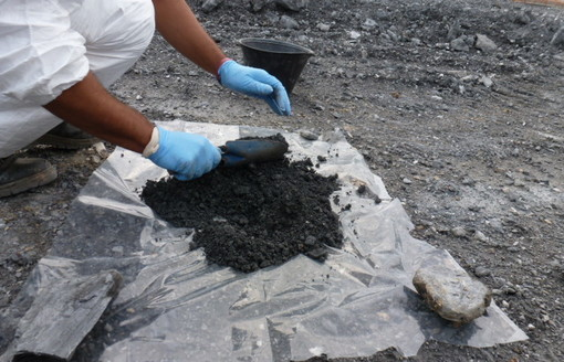 Osservatorio Ambientale Terzo Valico: come comporre in cantiere il campione per l'analisi dell'amianto