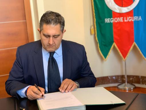 Maltempo: il presidente Toti firma la richiesta di danni per 450 milioni di euro