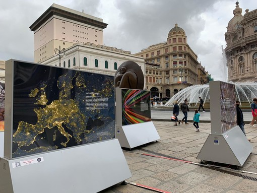 A Genova la mostra 'The code of the Universe. A photographic journey of discovery' (FOTO e VIDEO)