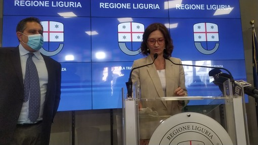 """Incontro tra Toti e Gelmini: """"Al centro l'emergenza covid, il green pass e il pnrr per gli Erzelli"""""""