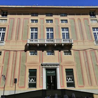 Sampierdarena, la nuova fisionomia 'green tech' di Palazzo Pallavicino