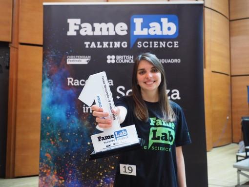 FameLab Italia: la genovese Veronica Grieco ha vinto il talent della scienza