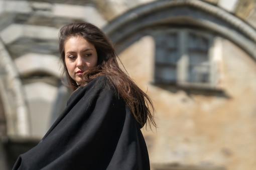 """Veronica Zanni, dal backstage del set di """"Mondi Paralleli"""", un film in produzione in Liguria"""