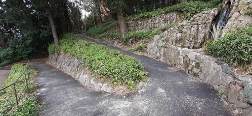 Carignano, via ai lavori per il muraglione di Poggio Giovine Italia