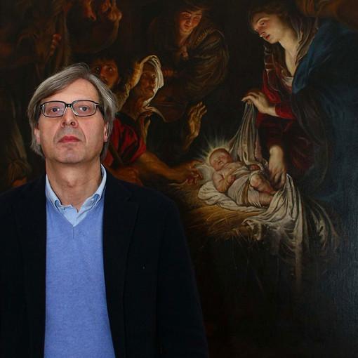 Vittorio Sgarbi e i Lions a Palazzo Ducale portano il connubio tra arte e solidarietà