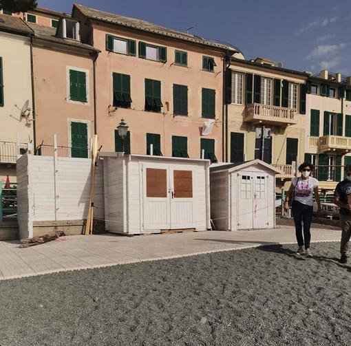 Vandali in azione a Vernazzola, slitta l'inaugurazione della spiaggia per disabili
