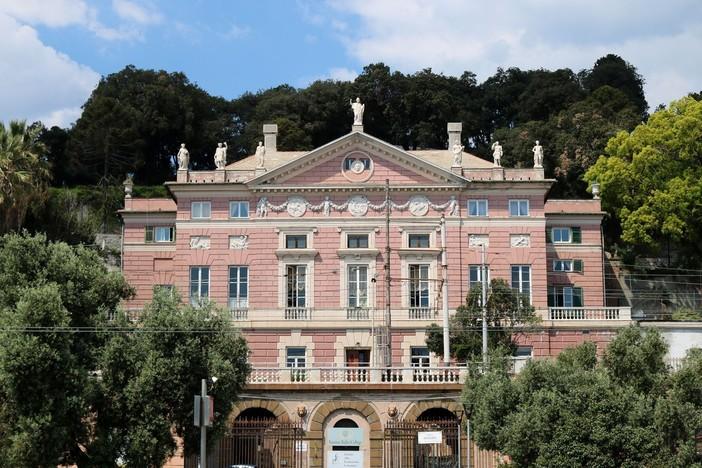 Villa Rosazza, il declino di un gioiello della città