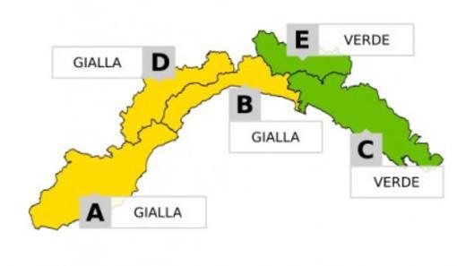 Allerta temporali in arrivo, dalle 22 di domenica mezza Liguria sotto l'acqua