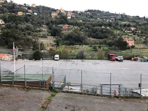 Santa Margherita Ligure, punto drive through tamponi al campo sportivo