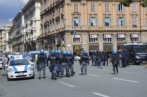 Scontri per la commemorazione di Venturini, denunciati 4 antifascisti