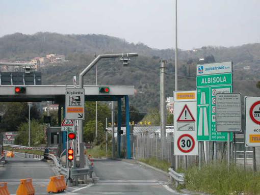 A10 Genova-Savona: chiusura notturna del tratto Celle-Albisola