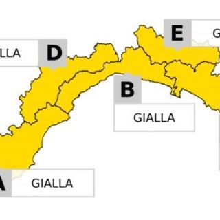 Torna il maltempo in Liguria: emanata l'allerta gialla per temporali