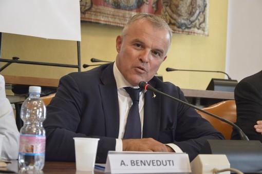 Andrea Benveduti, assessore regionale al Commercio