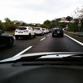 Viabilità, ancora code sulla A10 Genova-Savona