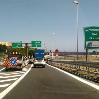A26 Genova Voltri-Gravellona Toce: chiuso per una note l'allacciamento con la A10 Genova-Savona