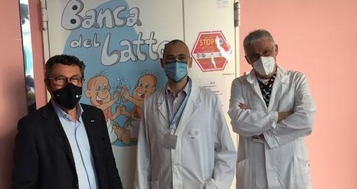"""Al Gaslini apre la """"Banca del latte donato"""". Brunetto (Lega): """"Colmata una lacuna per tutto il territorio regionale"""""""