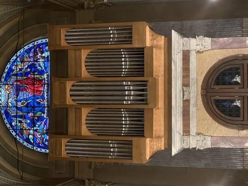 Domenica a Rapallo il primo dei tre concerti dedicati all'inaugurazione del restauro dell'organo della Basilica