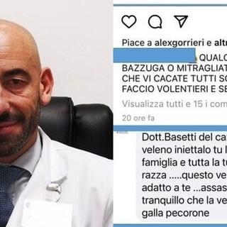 Minacce a Bassetti: cresce l'onda di odio che arriva dalla rete