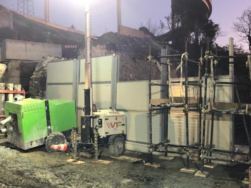 Nuovo ponte Valpolcevera, installate le barriere fonoassorbenti [FOTO]