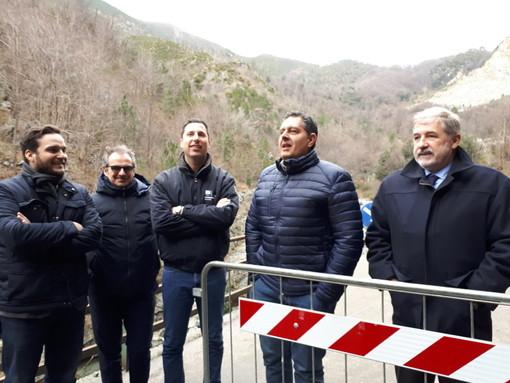 """Riaperta la strada per San Carlo di Cese, Bucci: """"Intervento urgente concluso prima del previsto"""""""