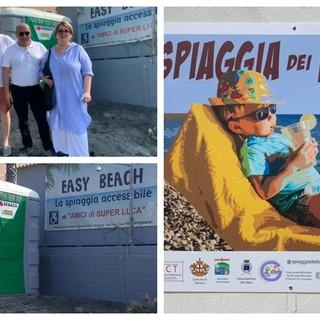 A Pegli nasce la prima spiaggia del ponente accessibile a tutti (FOTO)