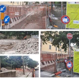 Partiti i lavori di messa in sicurezza del Rio Maltempo in via Piombelli a Certosa (FOTO)