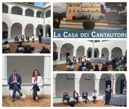 """Presentato il progetto Casa dei Cantautori': """"Luogo molto suggestivo, momento importante per la città"""" (FOTO e VIDEO)"""