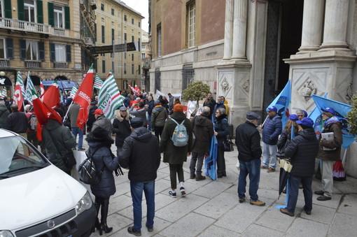 Posto a rischio per i trenta dipendenti della rsa 'La benedetta' di Sestri Ponente