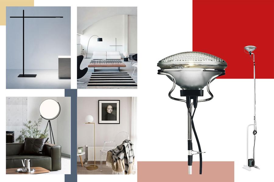 Lampade da terra: le più belle di design per un soggiorno ...