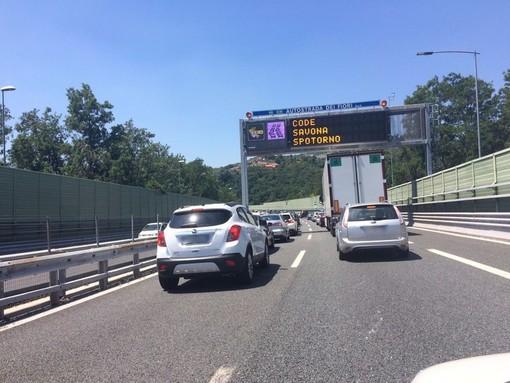 Autostrade: Genova Aeroporto-Pra', traffico tornato scorrevole dopo ripristino della circolazione