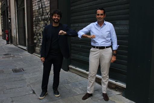 """Pandolfo e Benifei in centro storico: """"Con il Pd alla guida della Regione fondi europei per riqualificare il centro storico"""" (VIDEO)"""