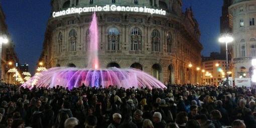 Capodanno all'insegna della festa in piazza per l'ultimo dell'anno a Genova