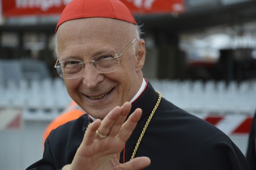 Gli auguri del presidente Toti per il 77esimo compleanno del cardinale Bagnasco