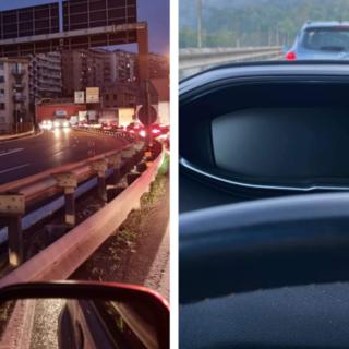 Disagi e lunghe code in autostrada per un incidente in A12 e per la chiusura del casello di Bolzaneto