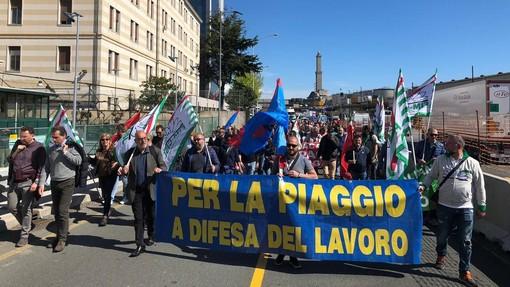"""Piaggio Aero. Fim Cisl, Fiom Cgil, Uilm Uil: """"Ecco il perchè dello sciopero del 30 marzo"""""""