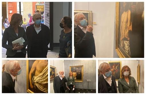 Musei di Strada Nuova, ospite di spicco a Genova: visita del maestro Milo Manara (FOTO)