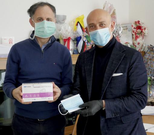 200.000 mini-mascherine ad uso pediatrico donate all'associazione Ospedali pediatrici italiani