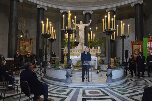 Il tributo e la preghiera delle istituzioni alle vittime Covid in Liguria (VIDEO e FOTO)