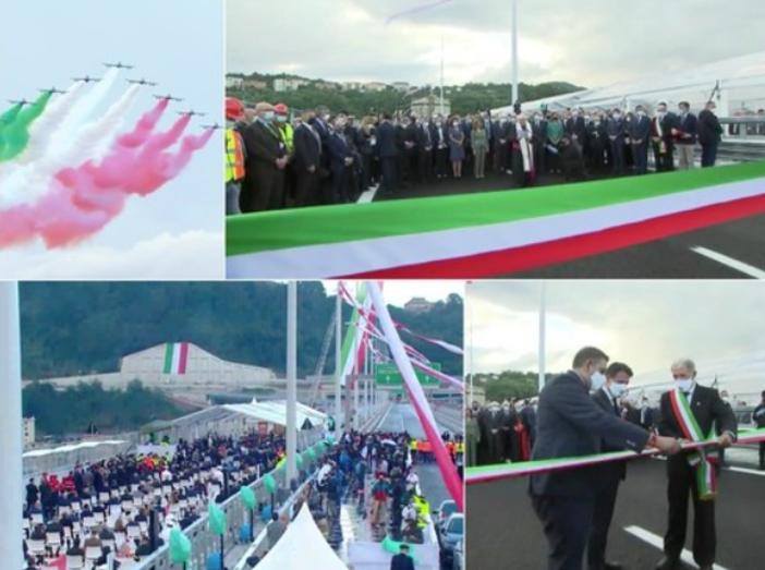 Il nuovo Ponte compie un anno: il 3 agosto 2020 riapriva il viadotto costruito sulle macerie del Morandi