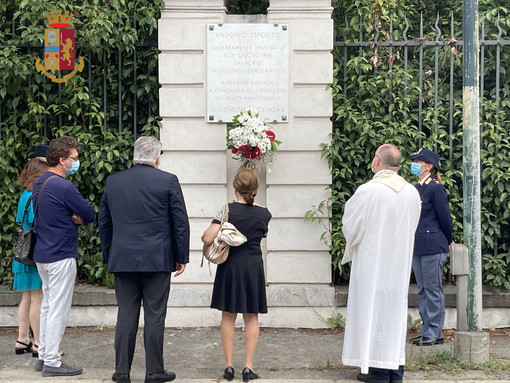 Oggi la commemorazione del commissario Antonio Esposito, ucciso dalle Br nel 1978