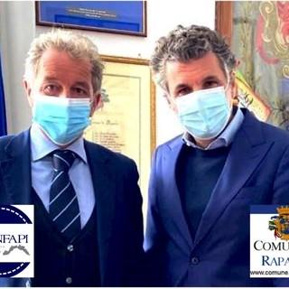 Confapi Industria Liguria, produttivo e concreto incontro con il Sindaco di Rapallo Carlo Bagnasco